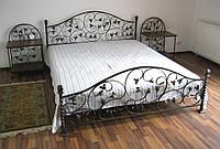 Кровать кованая +2 тумбы