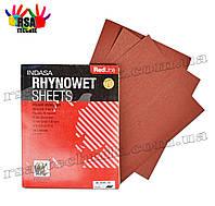 INDASA Листовая наждачная бумага Red Line Rhynowet Sheets P400