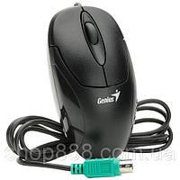 Мышка компьютерная Genius Net Scroll 120 PS2, проводная оптическая мышка