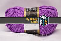 Акриловая пряжа Ярко-фиолетовый