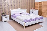 Кровать двуспальная с мягким изголовьем Монако