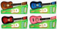 Гитара M 1369, шестиструнная, деревянная, +1 запасная струна в комплекте, медиатор, есть 4 вида.