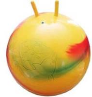 Мяч для фитнеса STANTOMA ПОЛЬША з ріжками диаметр 75см ( Ч )