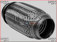 Гофра выхлопной системы (472, 481F, 481H) Chery QQ [S11, 1.1] S11-1205210 FA1 [Польша]