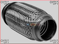 Гофра выхлопной системы, 472, 481F, 481H, Chery M11, FA1