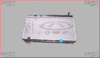 Радиатор охлаждения, 481, 481FD, Chery Tiggo [1.6, до 2012г.], Аftermarket