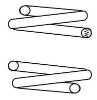 Передняя пружина на Опель (Opel Kadett E  1.2 1.3 1.4  9.84-9.91), в наличии