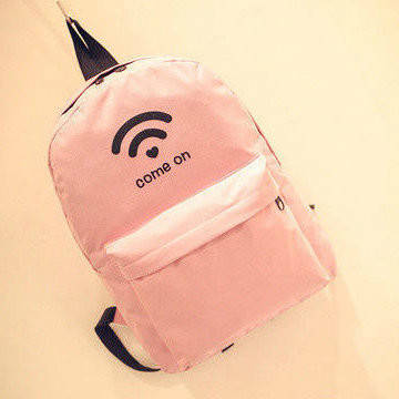 Рюкзак городской с модным принтом