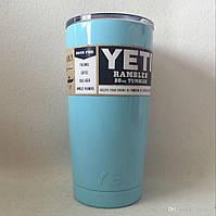 Чашка YETI Rambler Tumbler 20 OZ Голубой