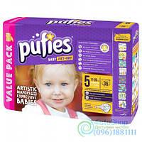 Подгузники Pufies 5 Baby Art & Dry 11-20 Кг 36 Шт