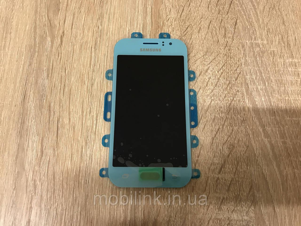 Дисплей Samsung J110 Голубой Blue GH97-17843C оригинал!