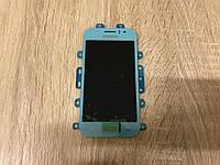 Дисплей Samsung J110 Голубой Blue GH97-17843C оригинал!, фото 1