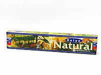 Благовонные палочки натуральные индийские Сатья Натурал, Satya Natural (45gm)