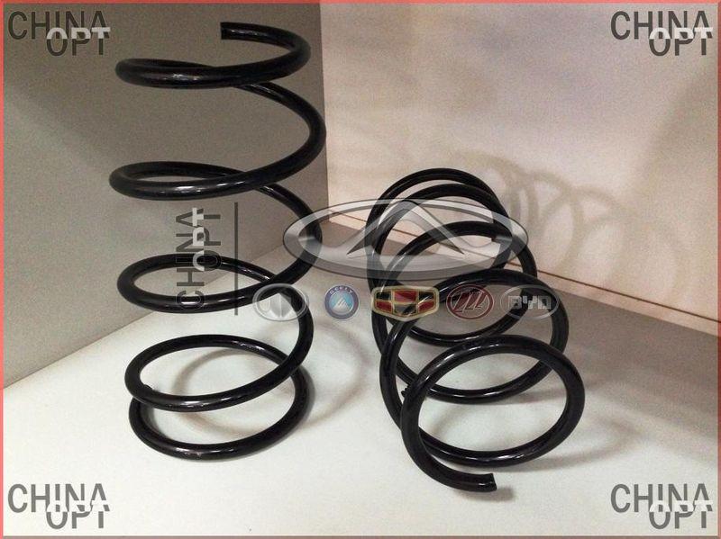 Пружина передней подвески, Geely MK1 [1.6, до 2010г.], 1014001707, Kayaba