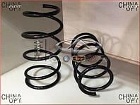 Пружина передней подвески (шток амортизатора 14мм) Geely MK1 [1.6, -2010г.] 1014001707 Kayaba [Япония]