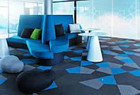 Укладка монтаж ковровой плитки