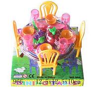Игровой набор «мебель с продуктами»