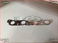 Прокладка выпускного коллектора Lifan 520 [Breez, 1.6] E010001401 Китай [аftermarket]