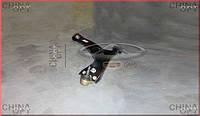 Рычаг передний правый, в сборе с шаровой, Chery TiggoFL [1.8, с 2012г.], T11-2909020, Aftermarket