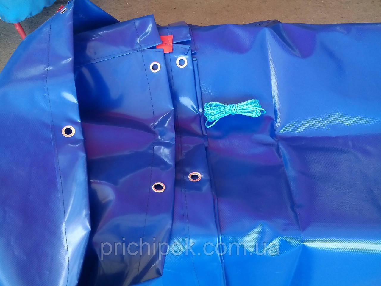 Тент на легковой прицеп креон 1,8 * 1,3 ткань пвх