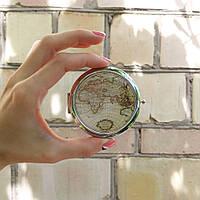 """Карманное зеркало ZIZ """"Карта"""" 27001"""