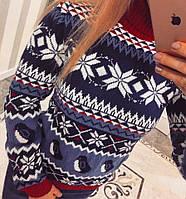 Женский зимний свитер 100