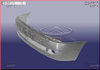 Бампер передний (с решеткой и заглушкой, УЦЕНКА) Chery Amulet [1.6,-2010г.] A15-2803500BA-DQ Китай [лицензия]