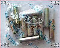 Втулка амортизатора заднего, металлическая, Geely MK1 [1.6, до 2010г.], 1014017073, Original parts