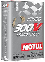 Масло моторное Motul 300V COMPETITION 15W50, 2L