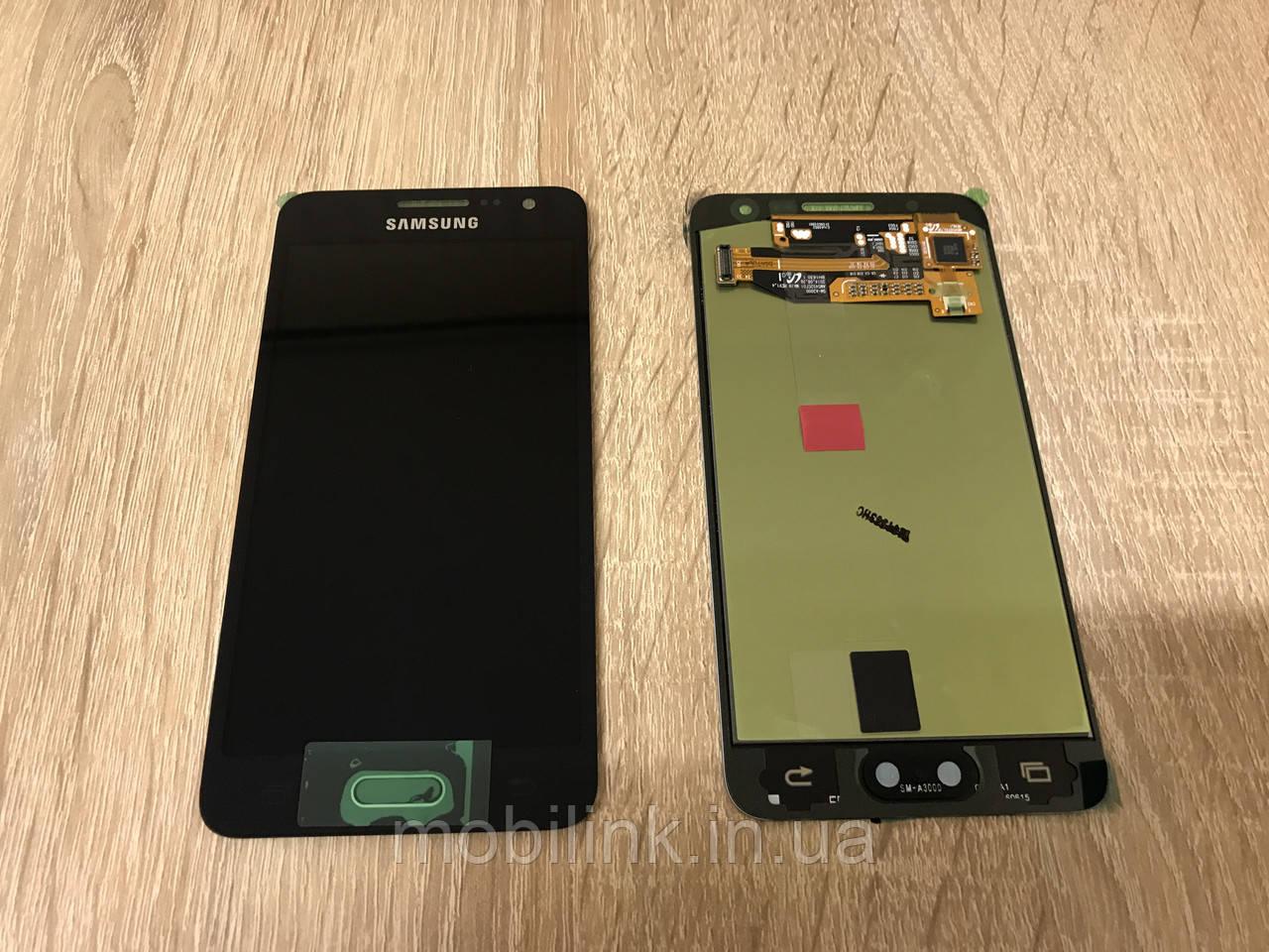 Дисплей Samsung A3 A300 Чёрный Black GH97-16747B оригинал!