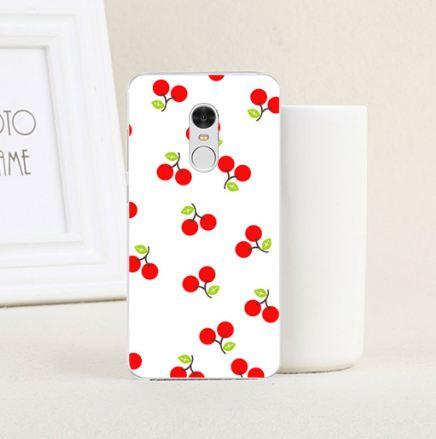 Яркие оригинальные чехлы с картинками для Xiaomi Redmi Note 4 Вишня