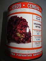 Семена салата сорт Лолло Россо 200 гр