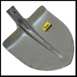 Лопата американка (толщина 1,5 мм) порошковая краска без черенка