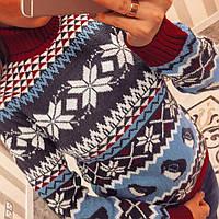 Модный женский зимний свитер 101