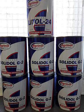 Смазка Агринол Солидол Ж бан 0,8, фото 2