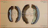 Колодки тормозные задние, барабанные, Chery Kimo [S12,1.3,MT], Аftermarket