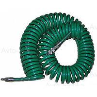Шланг спиральный Vitol для пневмоинструмента 8*12мм*15м с переходниками (V-81215Р) (V-81215Р (10))