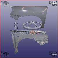 Крыло переднее правое (до 2012г.) Chery Amulet [-2012г.,1.5] A15-8403020BB-DY Китай [аftermarket]