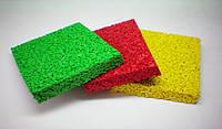 Бесшовное каучуковое покрытие для детских площадок, 10 мм