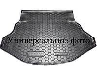 Коврик в багажник полиуретановый для SKODA Octavia A7 2013> лифтбэк (без бокса усилит) (Avto-Gumm)