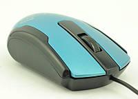 Мышка компьютерная проводная ZW116 с цветком (цвета в ассортименте)