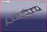 Прокладка впускного коллектора, 480EF, 1.6, паранитовая, Chery Karry [A18,1.6], АFTERMARKET