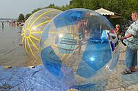 Водный шар Футбол Зеленый , мегабол, Зорб, Новый