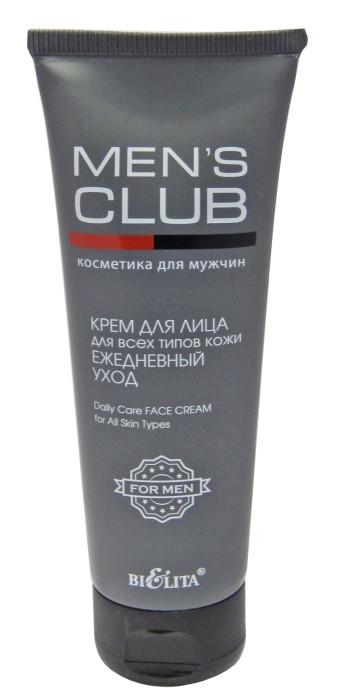 """Крем для лица """"Ежедневный уход"""" Men's Club Bielita 75 мл"""