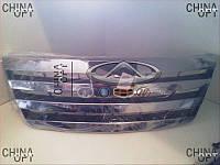 Решетка радиатора (до 2010г.) Chery Elara [2.0] A21-8401111 Китай [аftermarket]