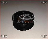 Ролик генератора, натяжной, без натяжителя (481*, 484H, ACTECO) Chery Tiggo [1.6, -2012г.] A11-8111200CAK1 CFR [польша]