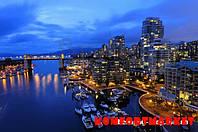 """Фотообои: """"Ночной Ванкувер 3"""""""
