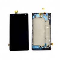 Дисплей (экран) для Huawei Honor 3C H30-U10 + с сенсором (тачскрином) и рамкой Black