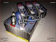 Свечи зажигания, комплект (480E*, 473H, 481*, 484H, одноконтактные) Chery Kimo [S12,1.3,MT] A11-3707110CA Bosch [Германия]