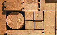 Евробрус (сращенный, клееный брус), оконный и строительный из материалов заказчика и под заказ, ель сосна дуб